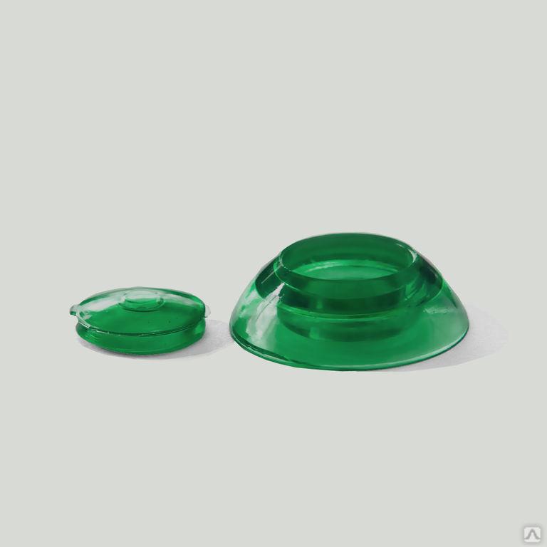 Термошайба универсальная (для всех толщин поликарбоната) зеленый, цена в Санкт-Петербурге от компании УникумПласт