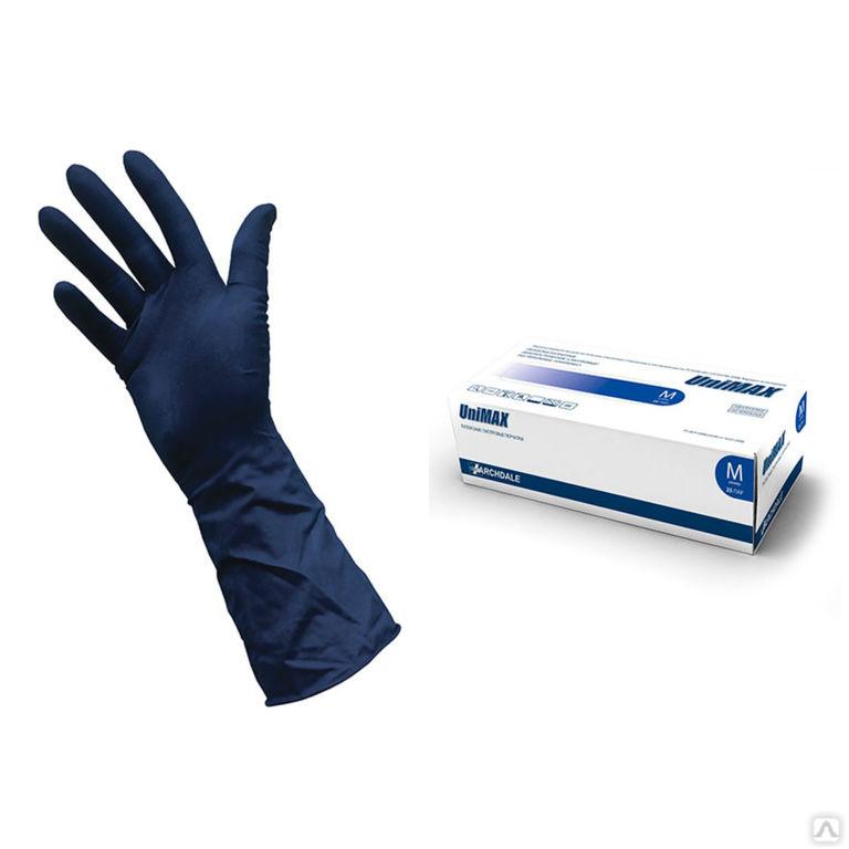 Перчатки латексные «UniMax» (Юнимакс), цена в Омске от компании Торговый Дом Эко-Стандарт-К